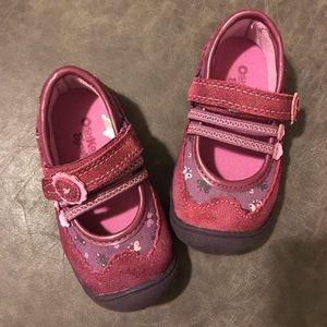 OshKosh B'gosh Pink and Purple Toddler Shoes